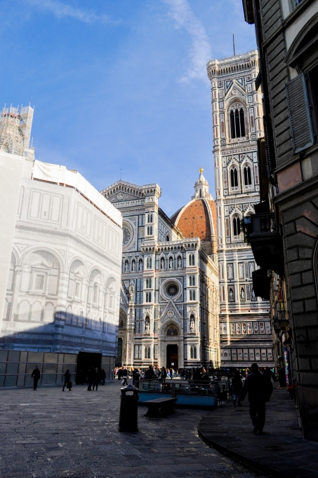 Florence Cathedral approach