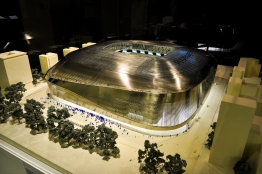 New Real Madrid stadium, proposed atleast