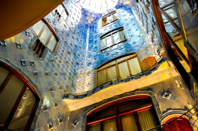 Atrium of Casa Battlo