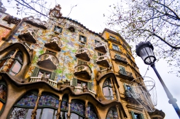 Casa Battlo - the House of Bones. Over a hundred years old.