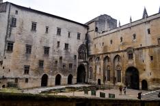 First courtyard